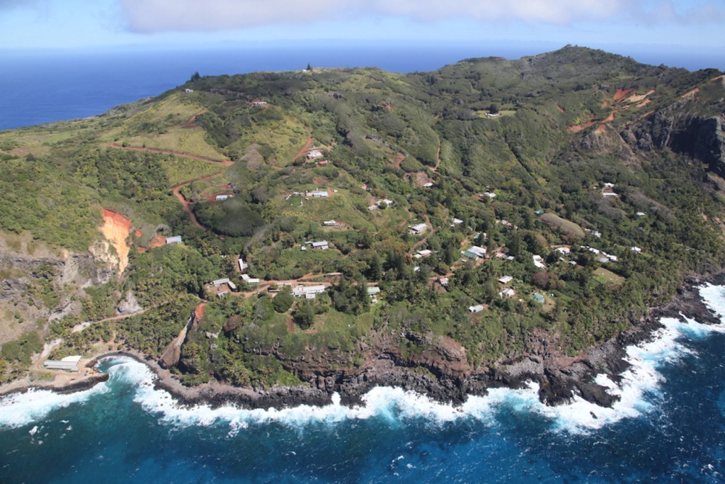 Pitcairn island, an idyll haunted by its past