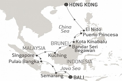 Itinerary Map Image