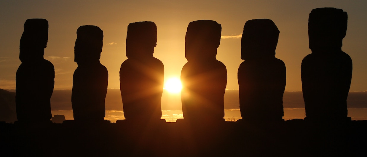 The mystery of Easter Island…